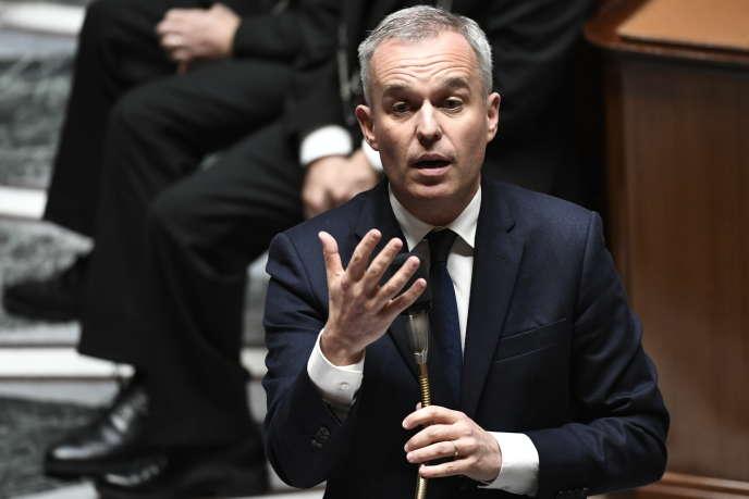 Le ministre de la transition écologique et solidaire, François de Rugy, à l'Assemblée nationale, le 16 octobre.
