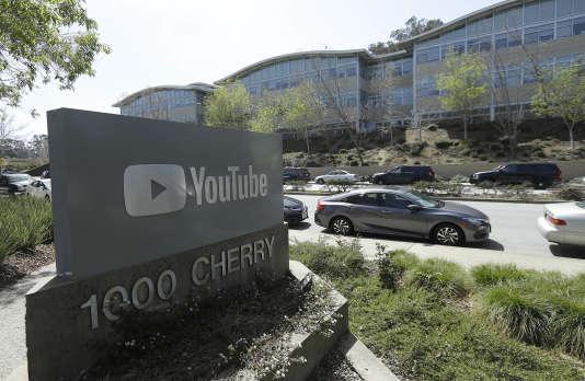 Des bureaux de YouTube, à San Bruno, en Californie.