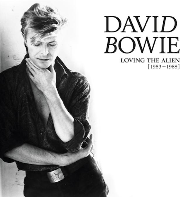Pochette du coffret« Loving the Alien [1983-1988]», de David Bowie.