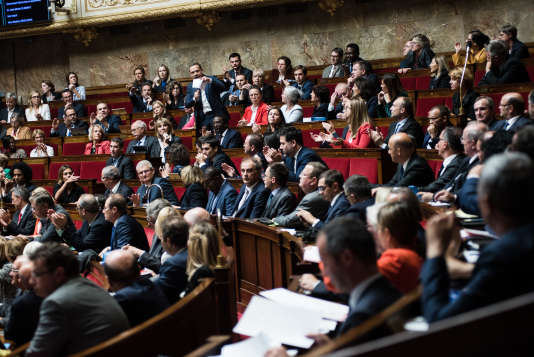 Séance des questions au gouvernement à l'Assemblée nationale, Paris, le 16 octobre 2018.
