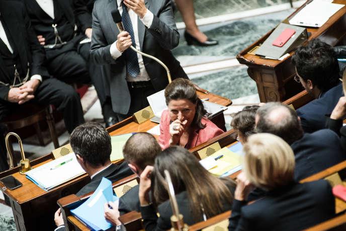 La ministre des solidarites et de la santé, Agnès Buzyn, à l'Assemblée nationale, le 16octobre.