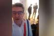 Extrait de la vidéo diffusée par Jean-Luc Mélenchon lors de la perquisition de son domicile parisien, le 16 octobre.