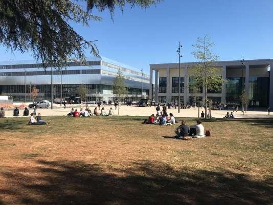 Campus de CentraleSupélec, à Paris-Saclay.