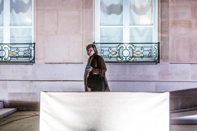 Michèle Marchand, le 3janvier, à l'Elysée.