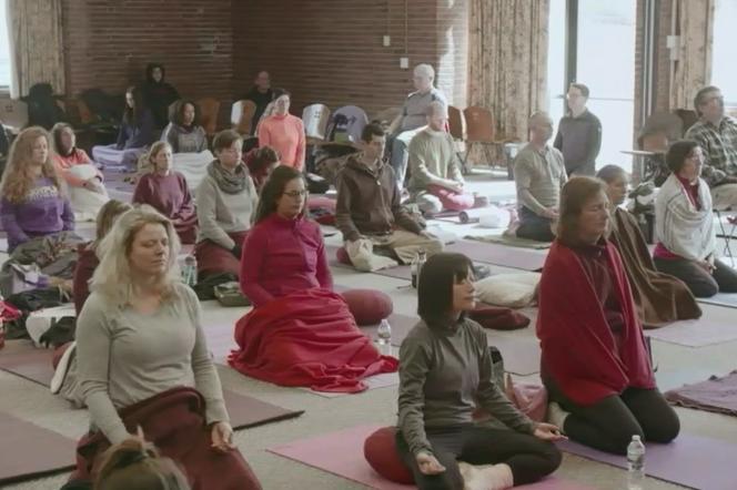 Image extraite du documentaire «Les Etonnantes Vertus de la méditation», de Benoît Laborde.