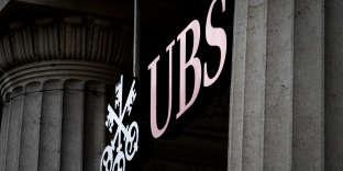 La banque suisse UBS, à Lausanne, le 6 octobre.