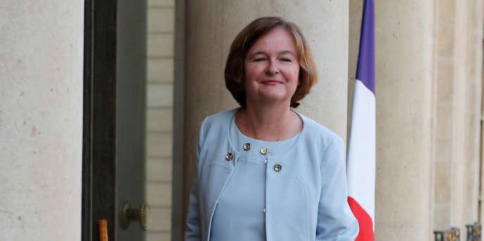 La ministre des affaires européennes, Nathalie Loiseau, à l'Elysée le 17 octobre.
