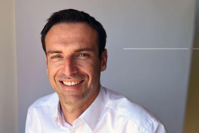 Christophe Deboffe, le patron de Neo-Eco, qui offre une seconde vie aux déchets.