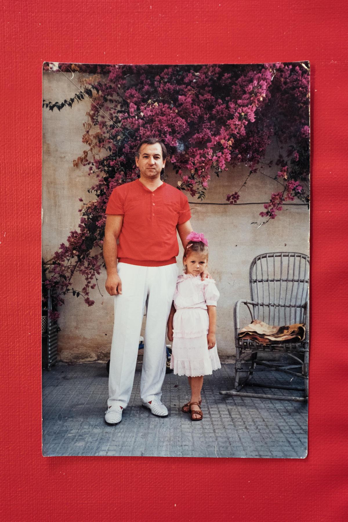 Sergueï Skripal et sa fille Ioulia.