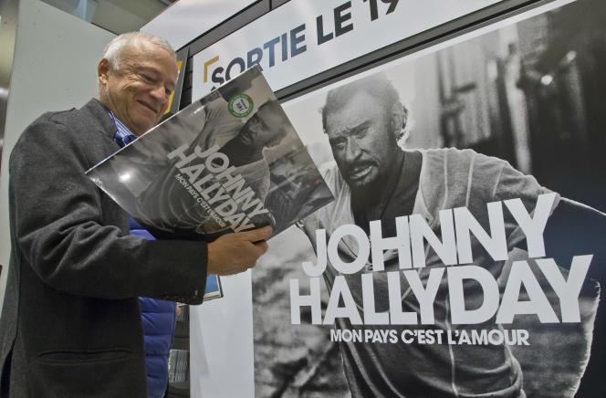 « Mon pays c'est l'amour», l'album posthume de Johnny Hallyday, s'était classé numéro un des ventes à sa sortie en 2018.