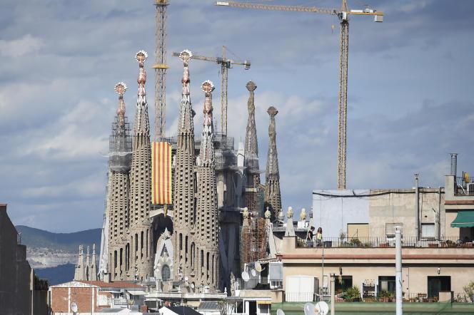 La première pierre de la Sagrada Familia a été posée en1882.