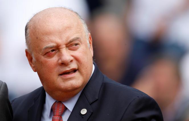 Le président de la Fédération française de tennis, Bernard Giudicelli, à Roland-Garros, le 6 juin.