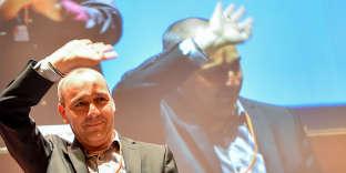 Laurent Berger, secrétaire général de la CFDT, lors du 49e congrès de la centrale, à Rennes, le 7 juillet.