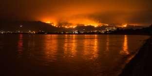 Incendies en Californie, en août.