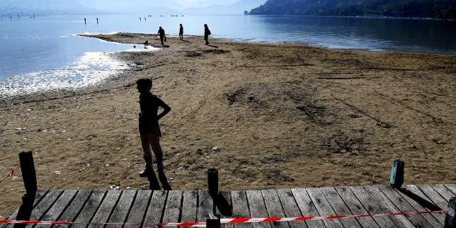 Le lac d'Annecy, le 28 septembre.