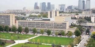 L'université de Nanterre, en octobre 2007.