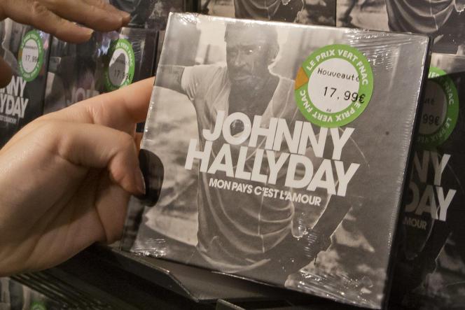 L'album posthume de Johnny Hallyday, « Mon pays c'est l'amour», sorti en 2018, a donné des couleurs au bilan.