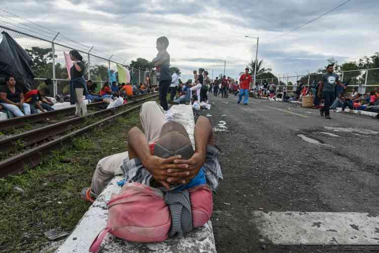 A Tecun Uman (Guatemala), le 19 octobre 2018.