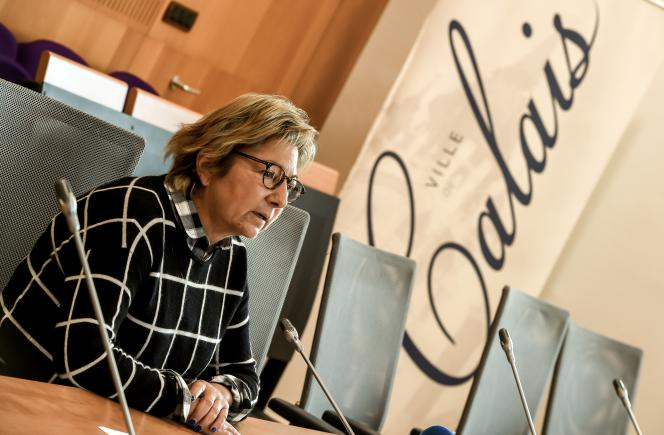La maire Les Républicains de Calais, Natacha Bouchart, en novembre 2017.