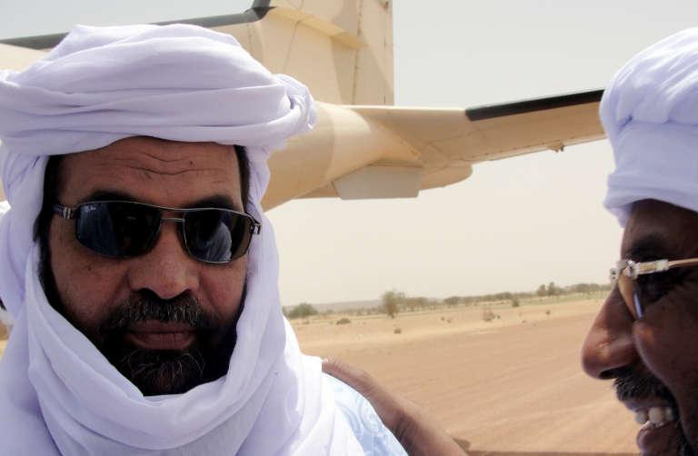 Le Touareg Iyad Ag Ghali, chef du Groupe de soutien à l'islam et aux musulmans (GSIM), à Kidal, au Mali, en août 2012.