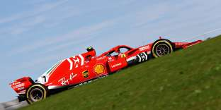 La Ferrari de Kimi Räikkönen lors du GP des Etats-Unis, le 20 octobre.