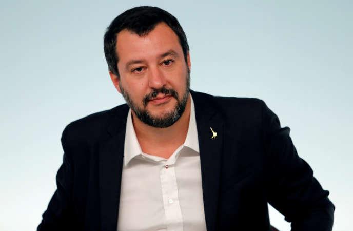 Le ministre de l'intérieur italien, Matteo Salvini, le 20 octobre à Rome.