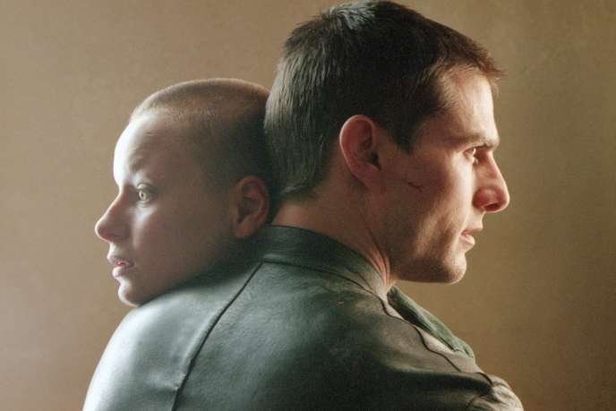 Agatha (Samantha Morton) et John Anderton (Tom Cruise) dans«Minority Report», de Steven Spielberg.