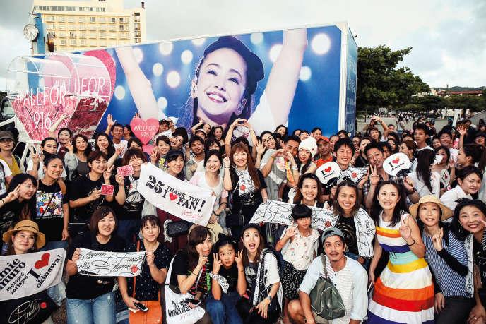 Le 15septembre, les fans de Namie Amuro avaient fait le déplacement à Ginowan, dans l'île d'Okinawa, pour l'ultime concert de la star.
