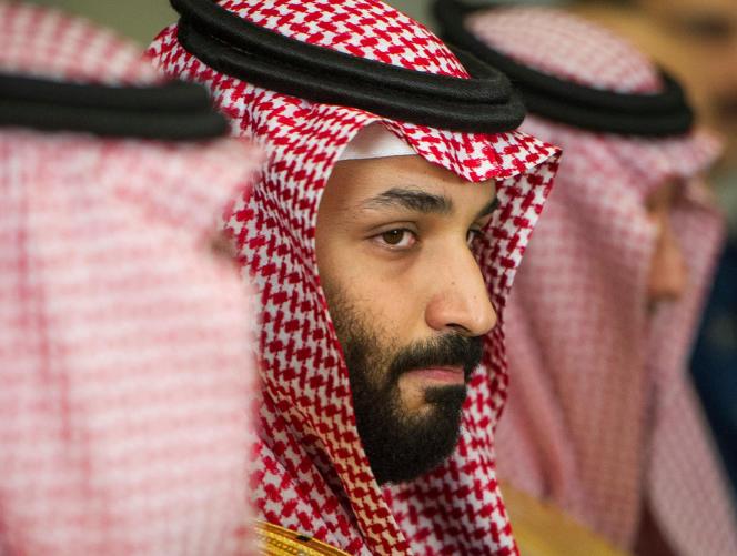 Le prince héritier saoudien Mohammed Ben Salman, à Washington, le 22 mars.
