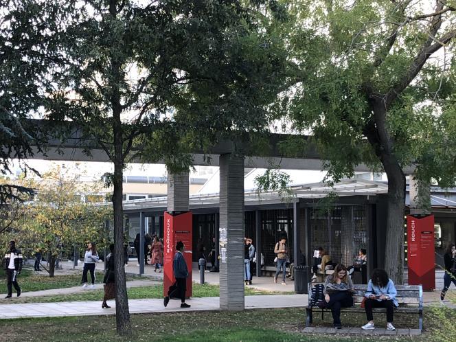 Université Paris Nanterre (octobre 2018)
