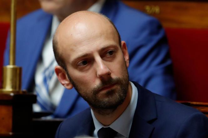 Le député (LRM), de la 3ecirconscription de Paris, Stanislas Guérini, à l'Assemblée nationale, le 23 octobre.