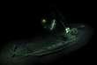 Une photo de l'épave d'un bâteau antique découverte dans la mer Noire.