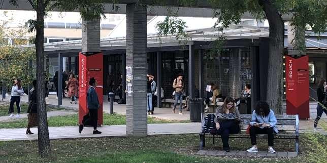 A l'université Paris-Nanterre, en octobre 2018.