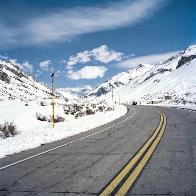 Dans le parc de l'Aconcagua, point culminant de la cordillère des Andes, à plus de 6962mètres d'altitude.
