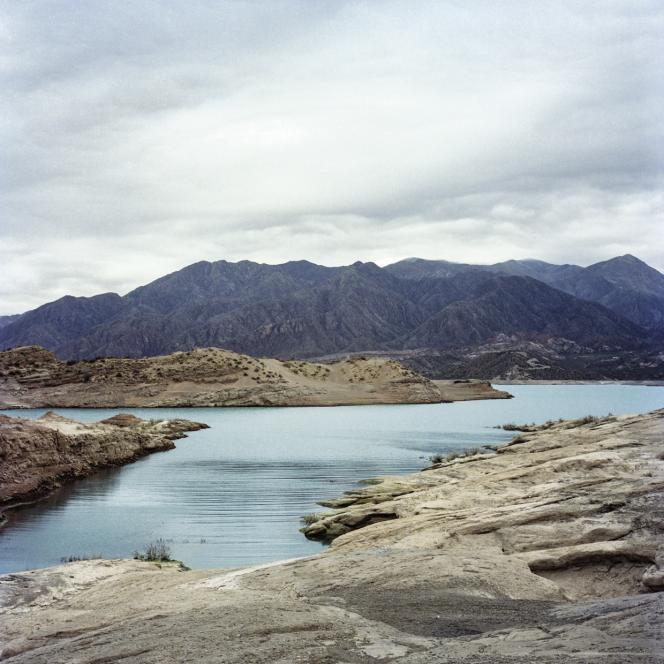Le lac artificiel de Potrerillos Dam, à 1 380 mètres d'altitude.