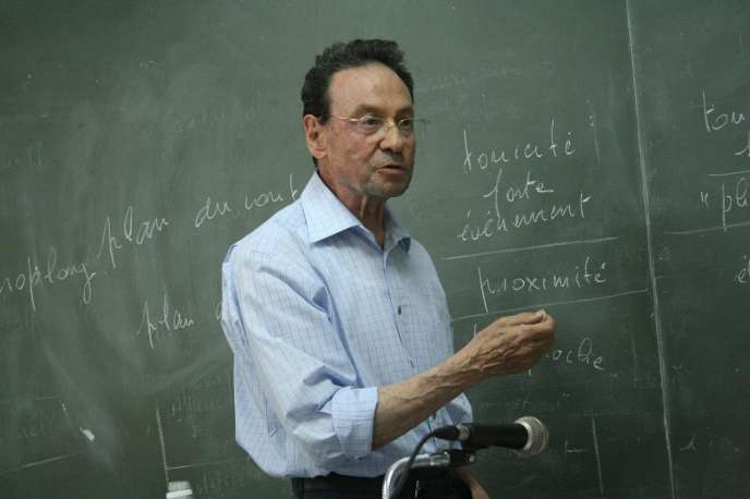 Claude Zilberberg, à l'université deSão Paulo.
