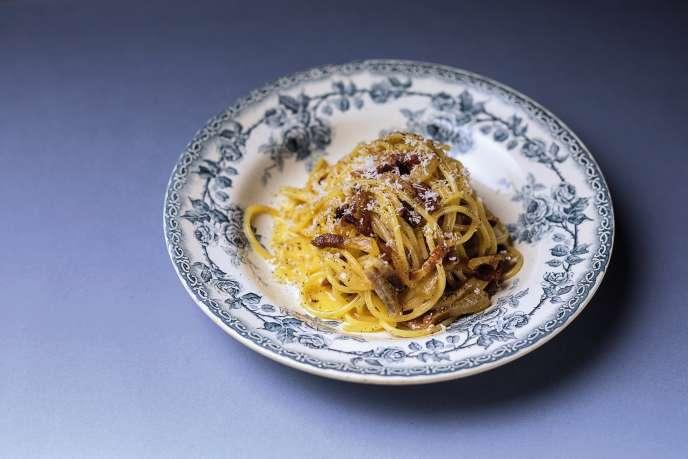 Pâtes à la carbonara: la «vraie» recette de Tommaso Melilli