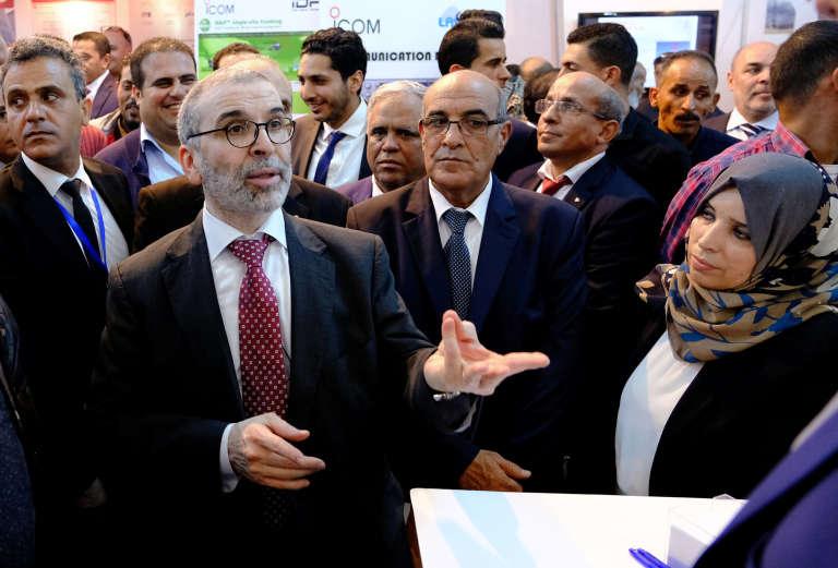 Mustafa Sanalla, président de la compagnie nationale pétrolière libyenne, lors d'un événement à Benghazi, le 24 octobre 2018.