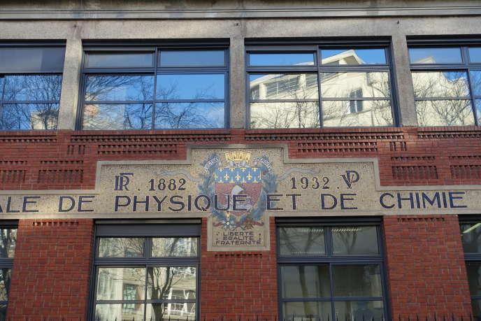 L'ESPCI Paris.