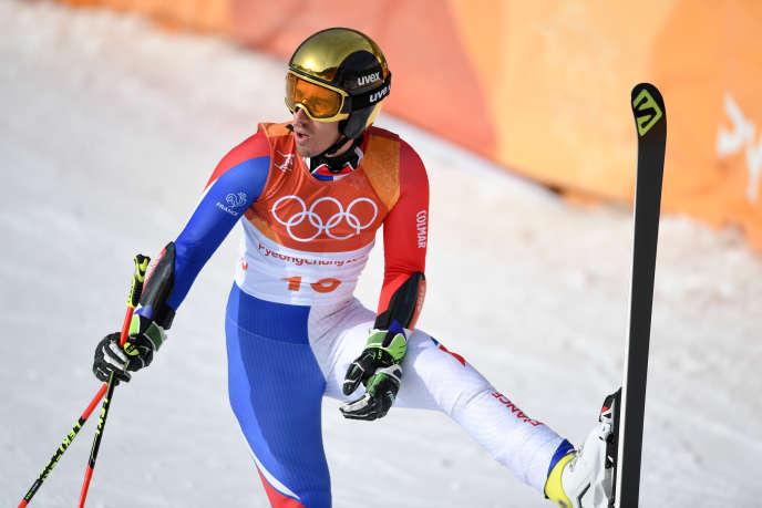 Victor Muffat-Jeandet a pris la troisième place du combiné et deux sixièmes places, en slalom et slalom géant, aux Jeux olympiques de Pyeongchang.