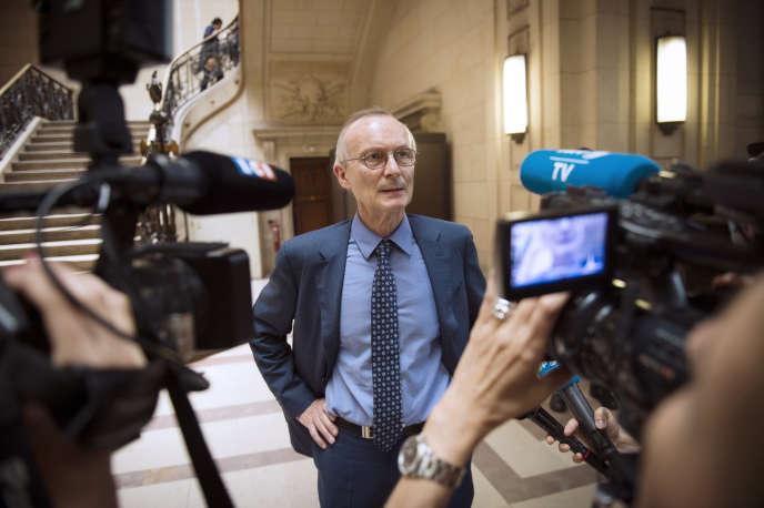 Patrick Baudouin, le 2 juillet 2015 a Paris.