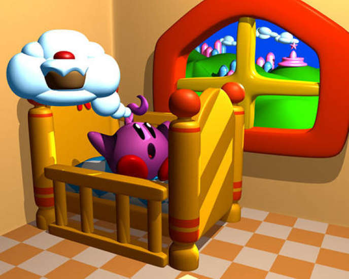 Image d'illustration de« Kid Kirby», le jeu sur lequel DMA Design (futur Rockstar) planchait à l'époque du premier« Grand Theft Auto».