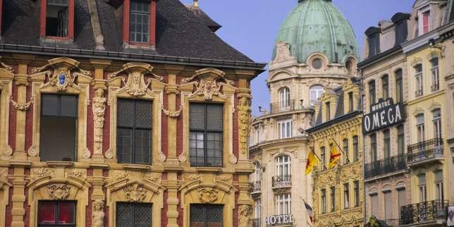 Le montant moyen des loyers lillois rapproche des 15,1 euros/m². Une aubaine dans une ville où la proportion d'étudiants atteint 22,5 %. Vue de la Grand Place de Lille.