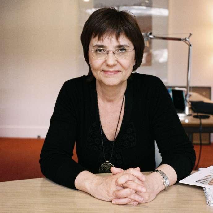 La directrice du Jeu de paume, Marta Gili, en septembre 2013.