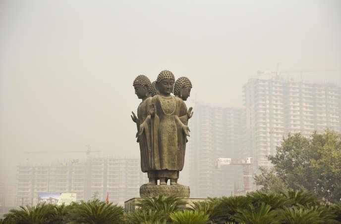 Près de New Delhi, le 26 octobre.