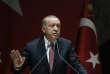 Recep Tayyip Erdogan lors d'un discours aux membres de son parti, à Ankara le 26 octobre.