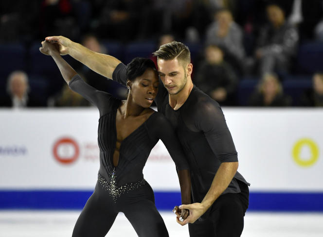 Vanessa James et Morgan Cipres, en octobre 2018 au Québec.