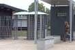 L'entrée du collège Edouard-Branly de Créteil (Val-de-Marne), où un élève a braqué une enseignante avec une arme factice le 18 octobre.