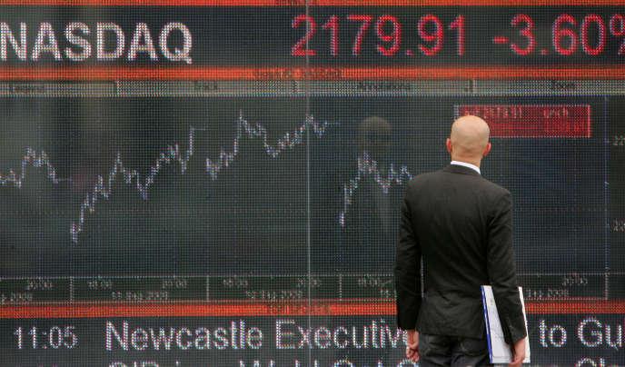 A Wall Street, le 16 septembre 2008.