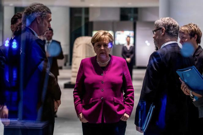 La chancelière allemande, Angela Merkel, à Berlin le 29 octobre.